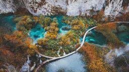 Плитвичките езера през четирите сезона (снимки)