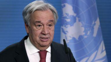 Генералният секретар на ООН: Светът е поел по един катастрофален път на затопляне