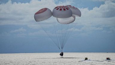 Аматьорите космонавти се завърнаха на земята