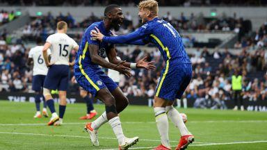 """Челси изигра перфектното полувреме на """"Тотнъм Хотспър Стейдиъм"""" - 3:0"""