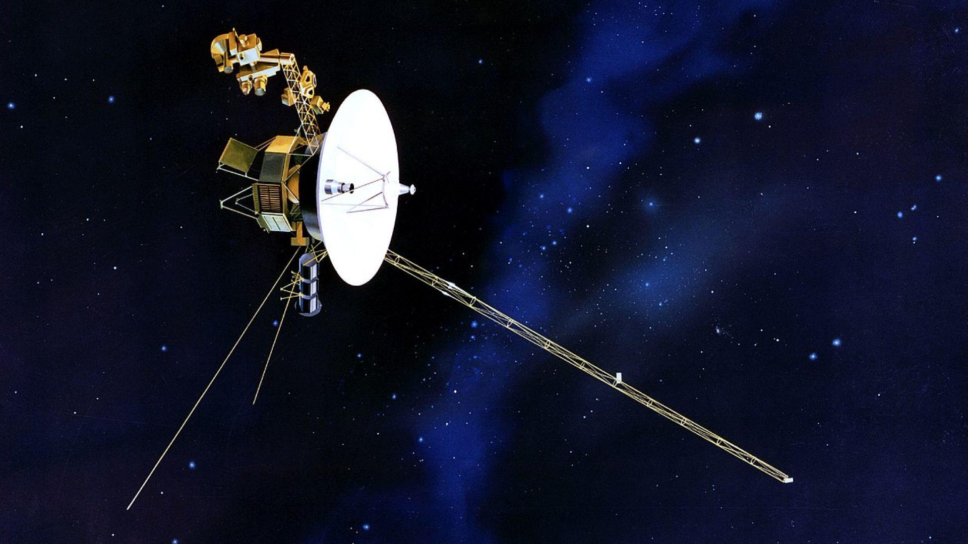 """Последната снимка на """"Вояджър 1"""" преди далечния Космос"""
