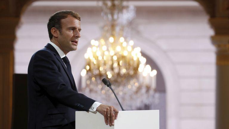 Френският президент Еманюел Макрон поиска днес прошка от името на