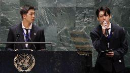 Кей поп звездите от BTS с реч и клип пред Общото събрание на ООН (снимки и видео)