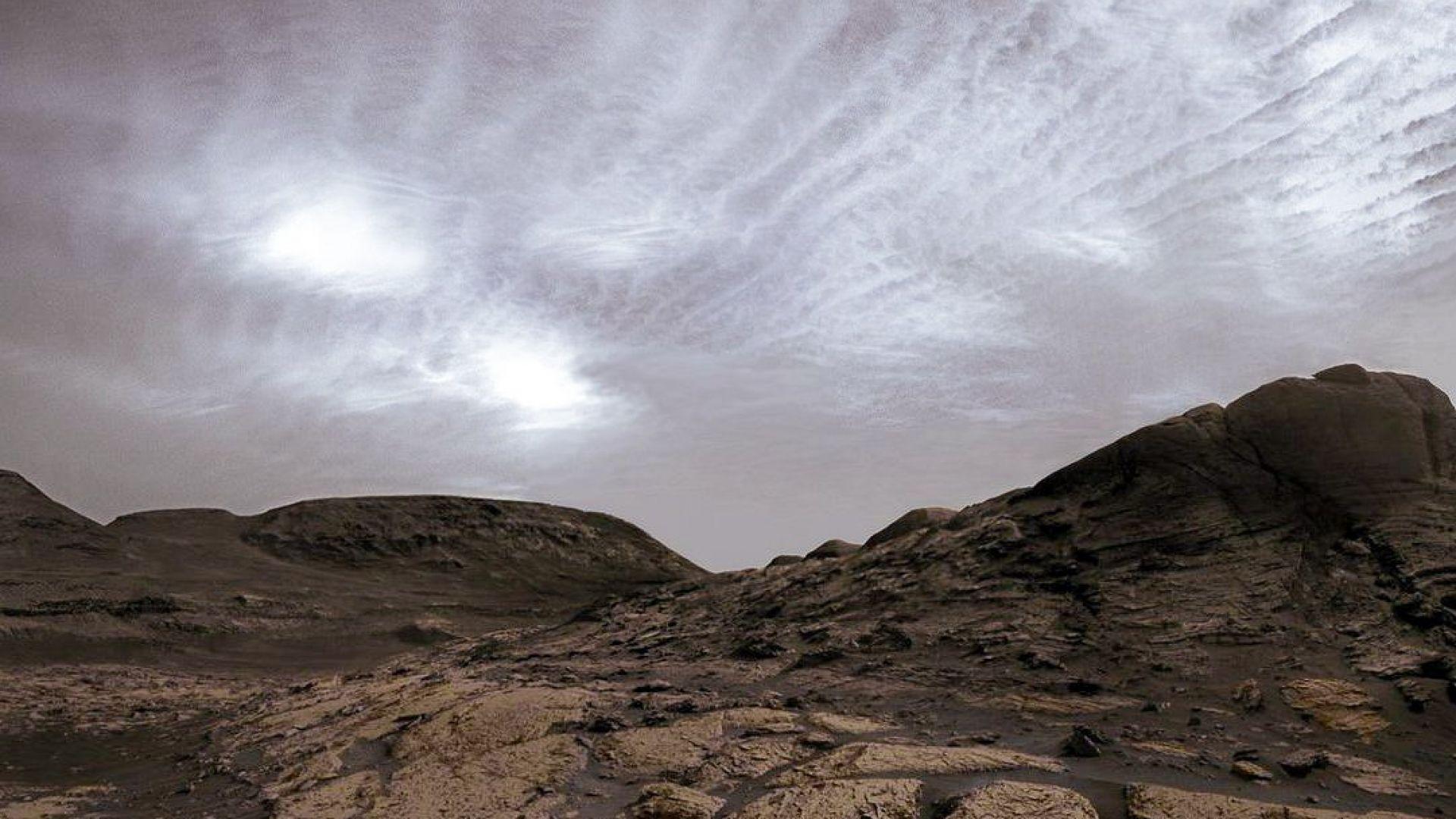 """""""Кюриосити"""" засне най-облачния марсиански ден"""