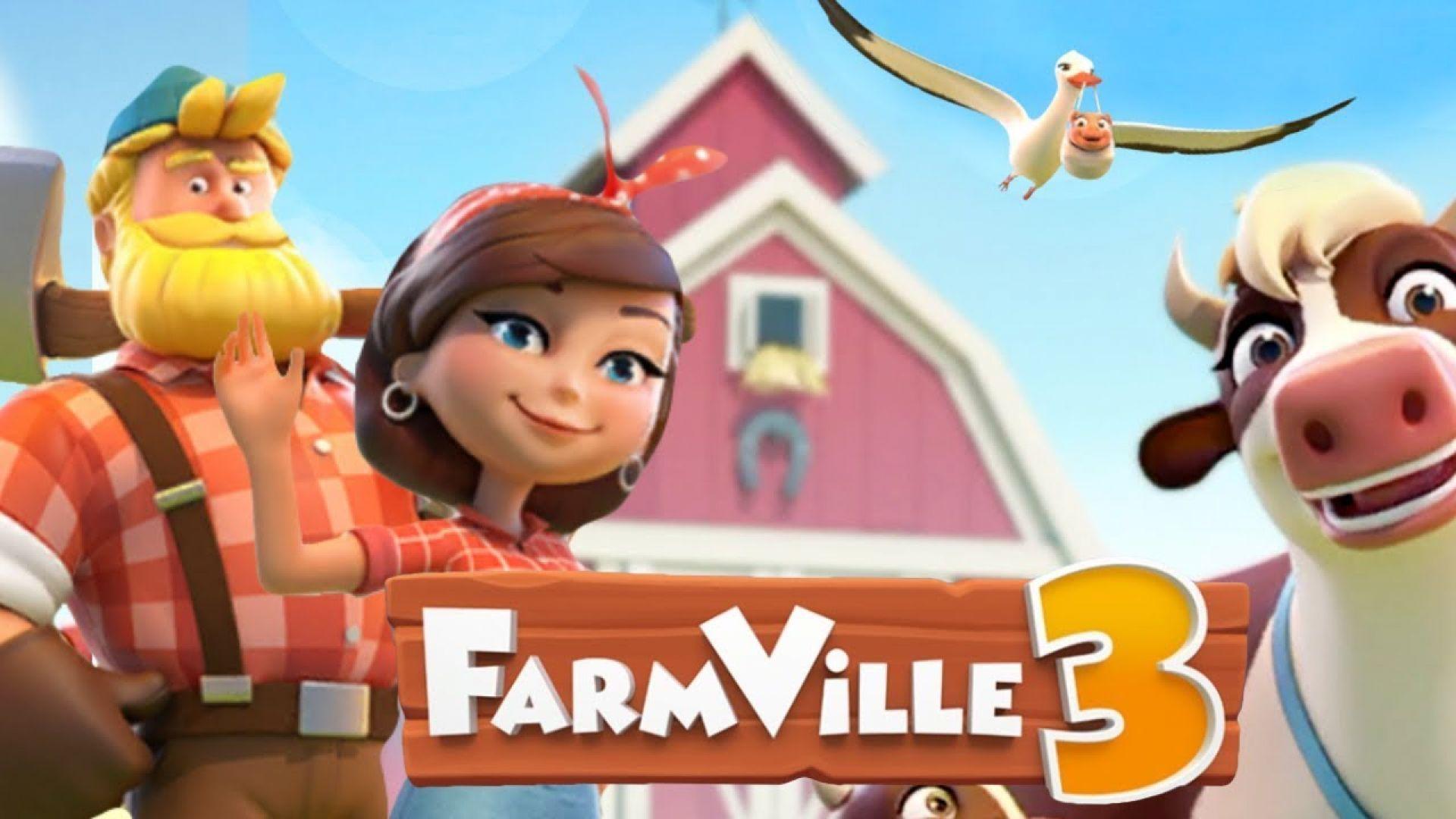 Zynga представи FarmVille 3 за мобилни устройства