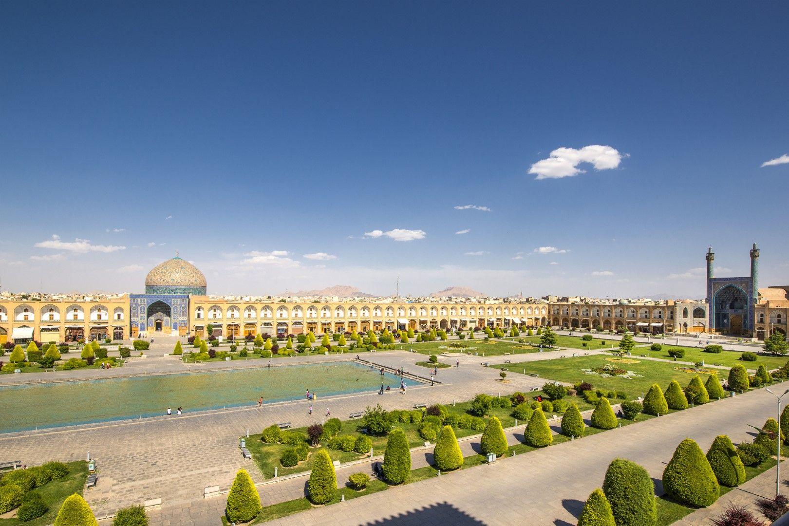 """Площад """"Нагш-е Джахан"""" в Исфахан, Иран"""