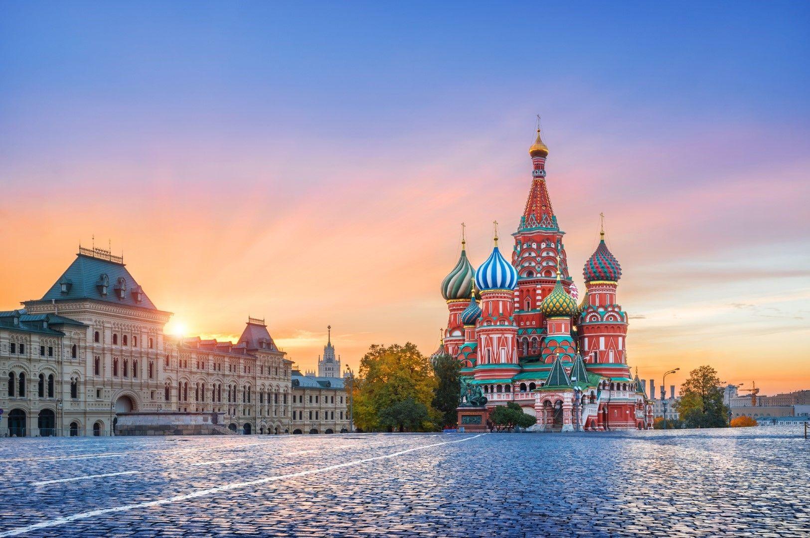 Червения площад в Москва, Русия