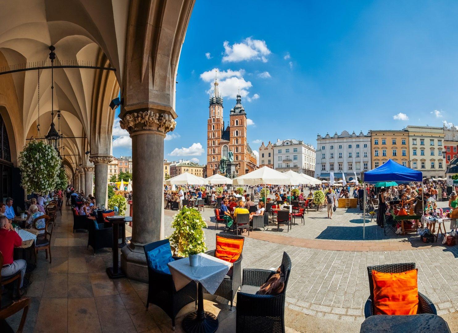 Главният площад на Краков, Полша