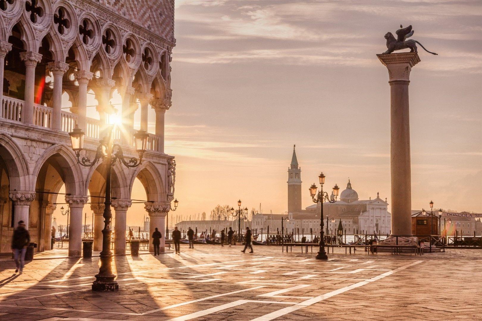 """Площад """"Сан Марко"""" във Венеция, Италия"""