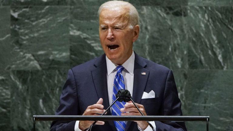 Президентът на САЩ Джо Байдън отбеляза във вторник в речта