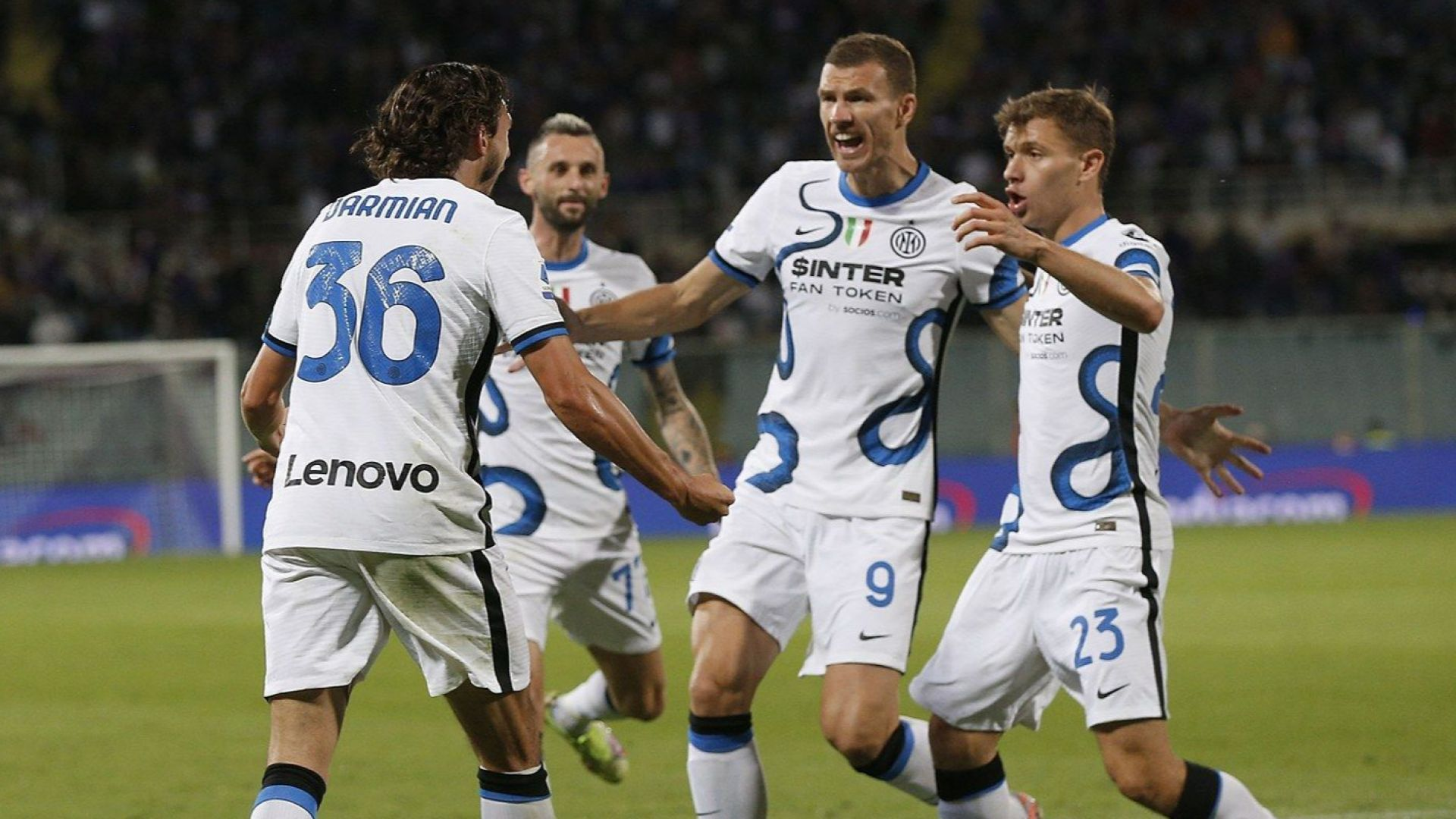 Шампионът Интер си върна върха след впечатляващ обрат във Флоренция
