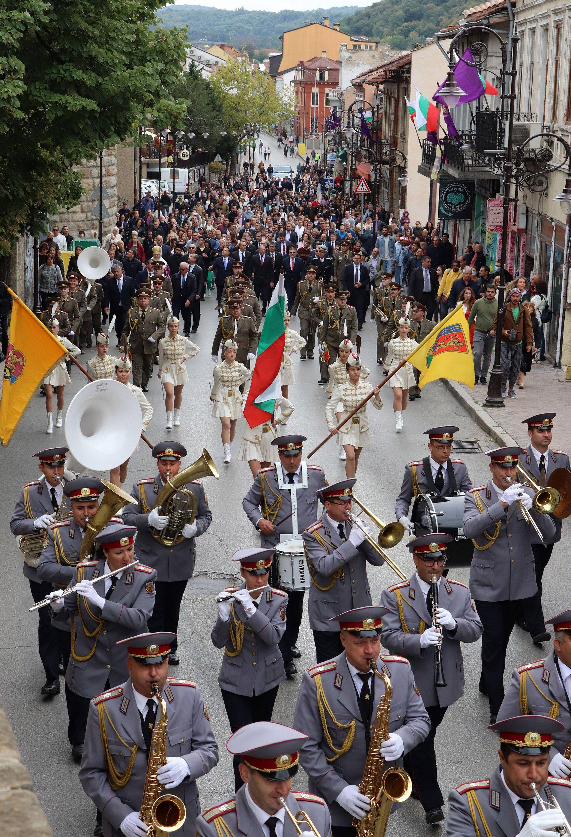 Честването на празника във Велико Търново