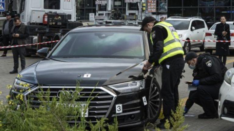 Колата на близък сътрудник на украинския президент Володимир Зеленски е