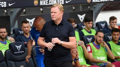 Барселона уволни треньора Куман след полунощ и се обръща към друга легенда