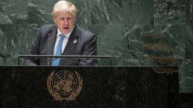 "Борис Джонсън призова света  ""да порасне"" и да се справи с  климатичните промени"