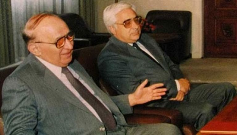 Тодор Живков и Адрей Луканов