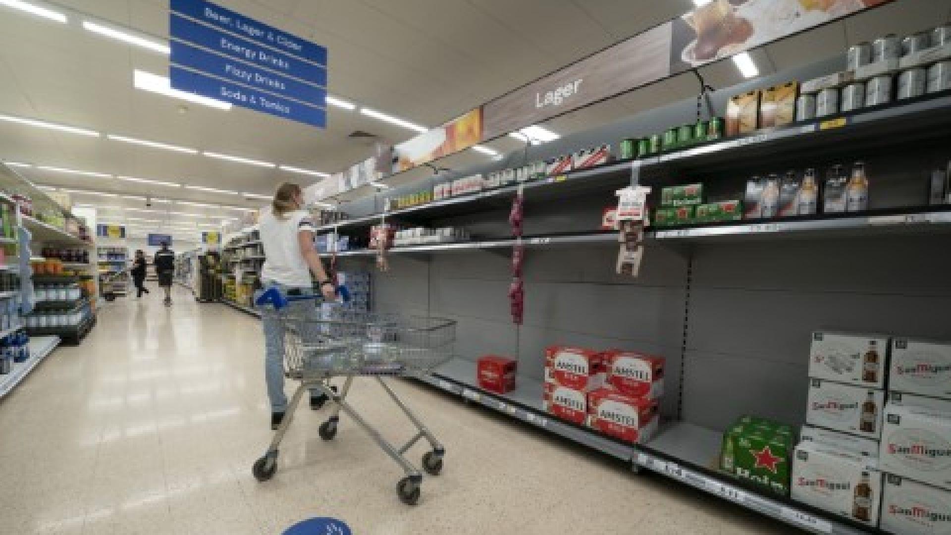 Нарисуваха мрачна картина на британската икономика