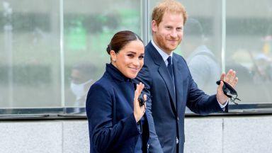 Принц Хари и Меган с първа публична поява след раждането на дъщеря им Лилибет