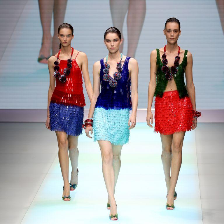 Армани отбеляза 40 години на марката Emporio на Миланската седмица на модата