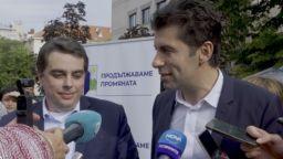 Петков и Василев обявиха 5 условия за предизборно споразумение, дори с ГЕРБ и ДПС