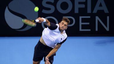 Български успех откри тенис турнира Sofia Open