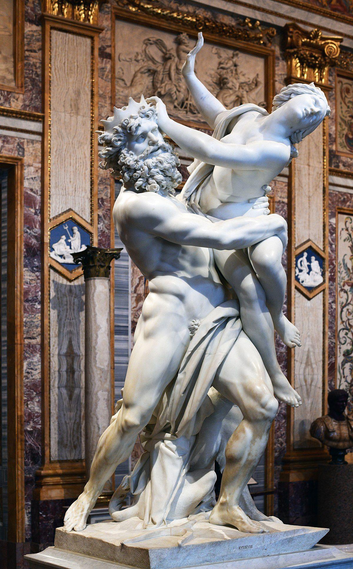 """Статуята на Бенини """"Rape of Proserpina"""""""