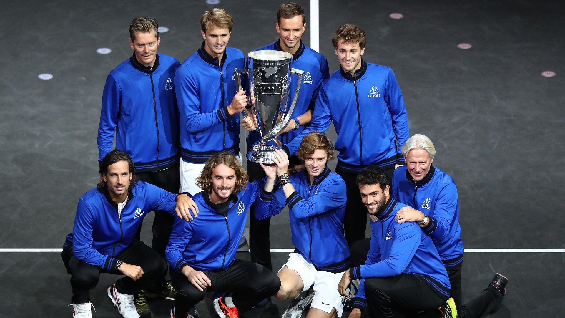 Европа продължи доминацията си на тенис турнира Laver Cup