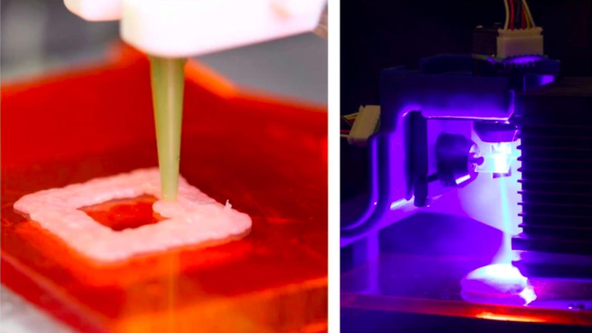 Нова технология готви и 3D принтира пиле едновременно