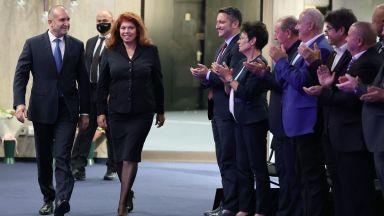 Инициативен комитет издигна кандидатурата на Радев и Йотова за втори мандат (снимки)