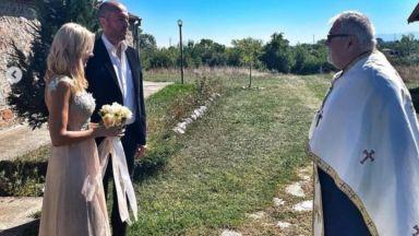 Мария Игнатова се омъжи за Ивайло Нойзи Цветков (снимки)