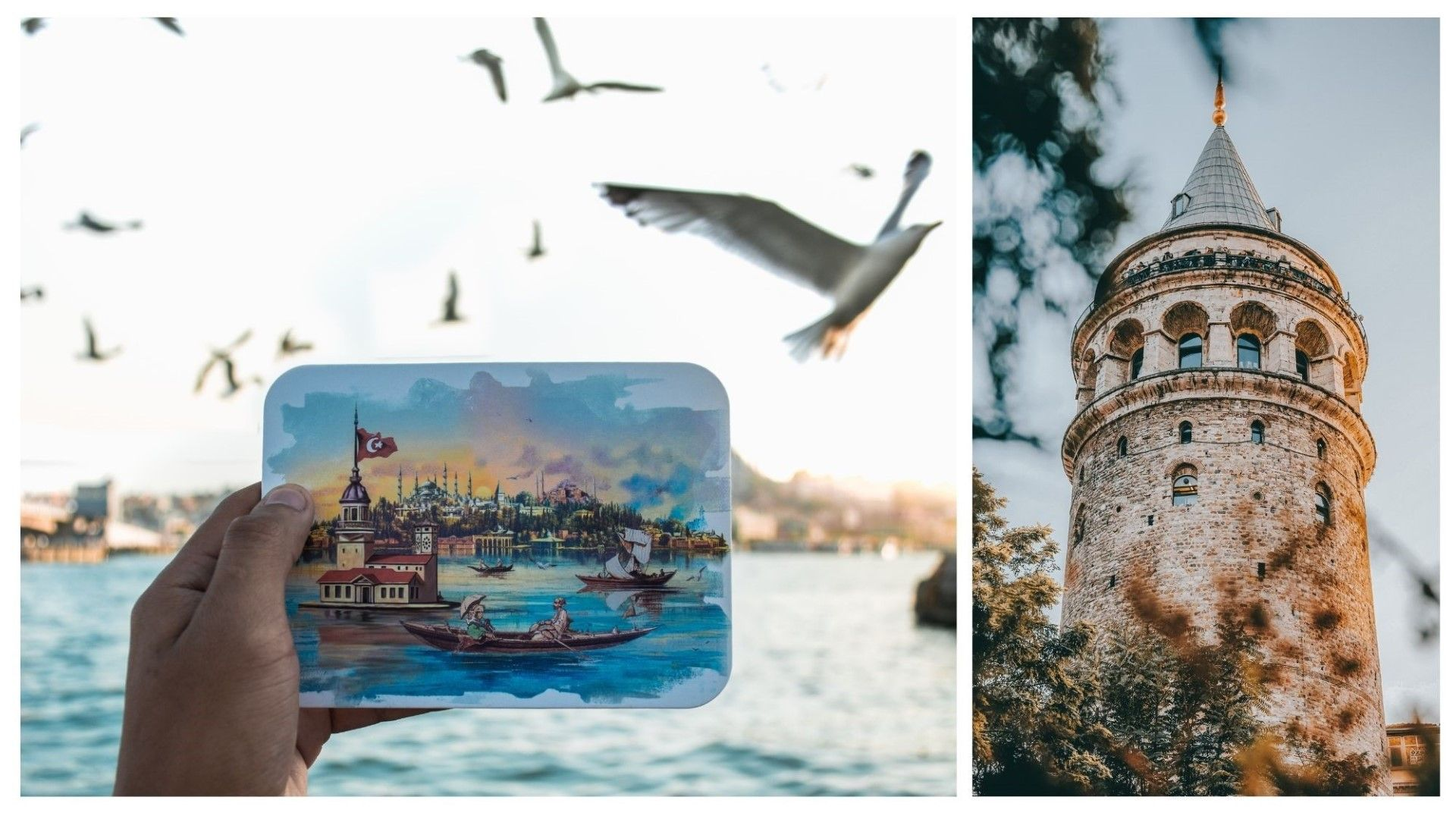Градът е толкова красив, колкото и на картичките. Вдясно кулата Галата.