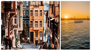 Магията на Истанбул в 22 снимки