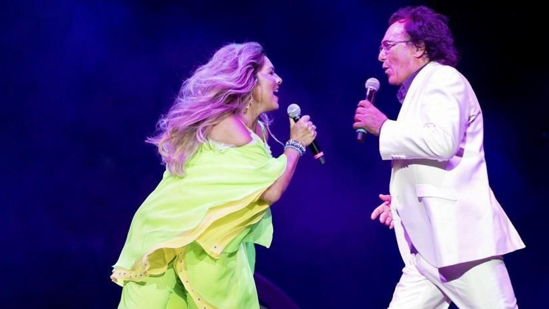 Ал Бано и Ромина Пауър празнуват 40 г. на сцена с почитателите си у нас
