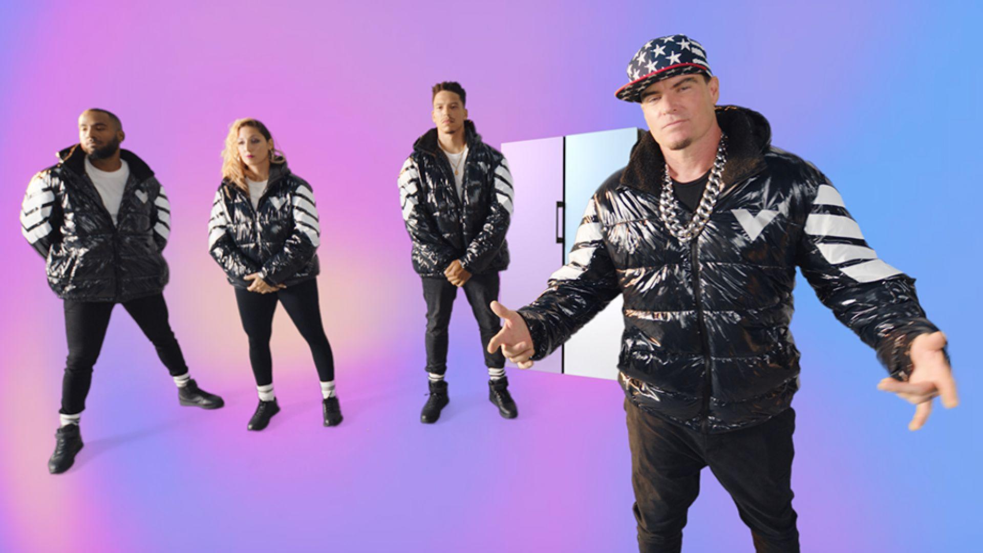 "Vanilla Ice и новият прочит на старата песен: ""Reduce Your Ice, Ice Baby"" и спаси планетата"