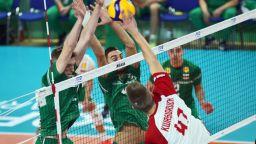Волейболна България допусна обрат от 2:0 и отпадна от сметките за медал