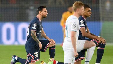 ПСЖ - Манчестър Сити 1:0, Гей бележи (Шампионска лига на живо)