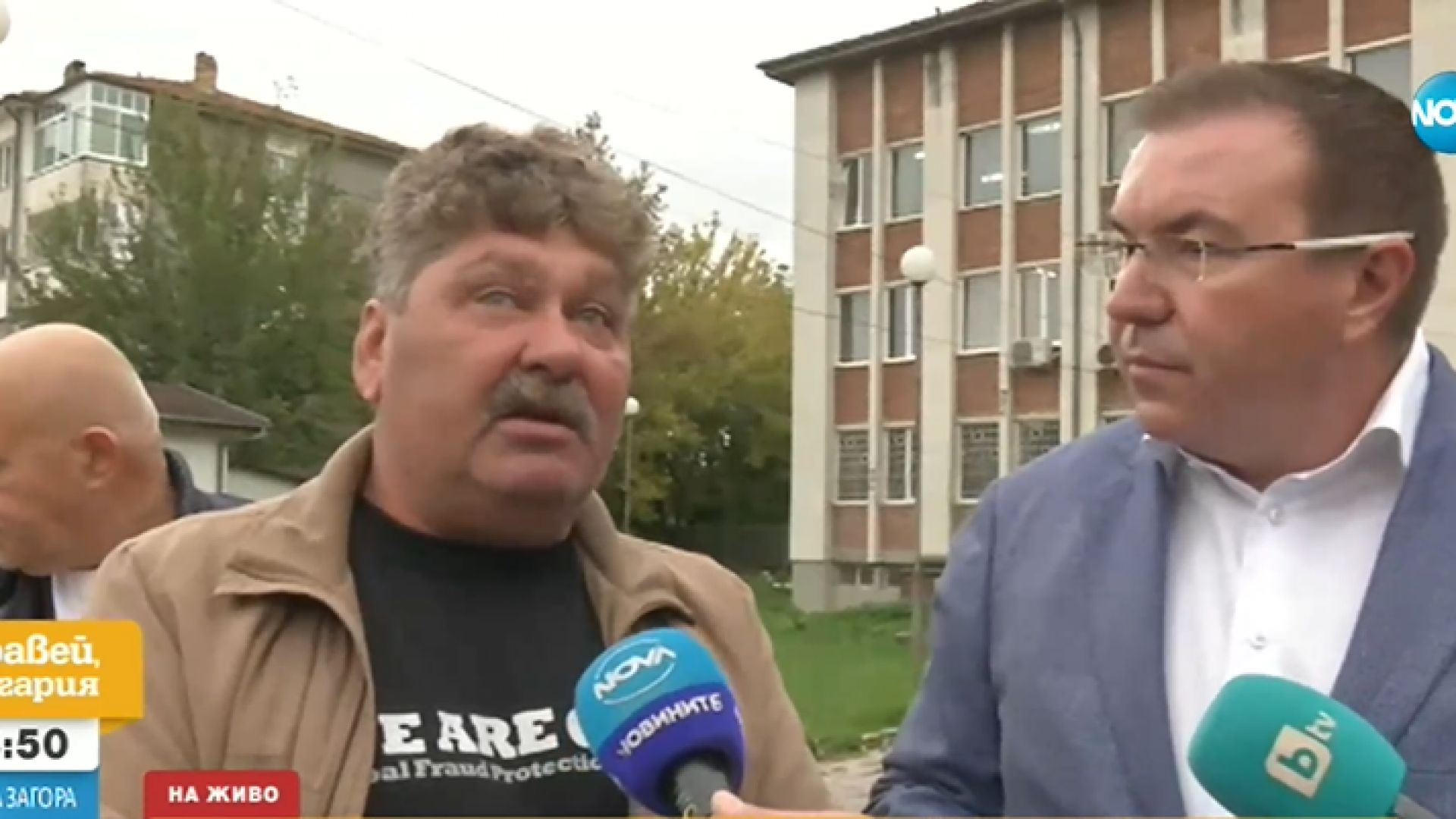 Полицейски призовки преди вота в Стражица, Костадин Ангелов обвини властта в милиционерщина
