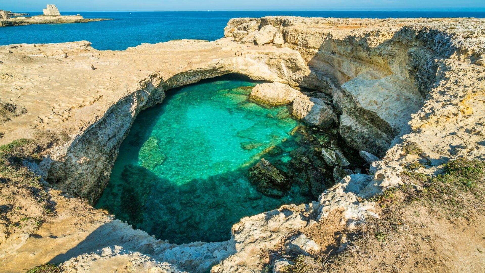 Пещерата на поезията: най-красивият естествен басейн в Италия