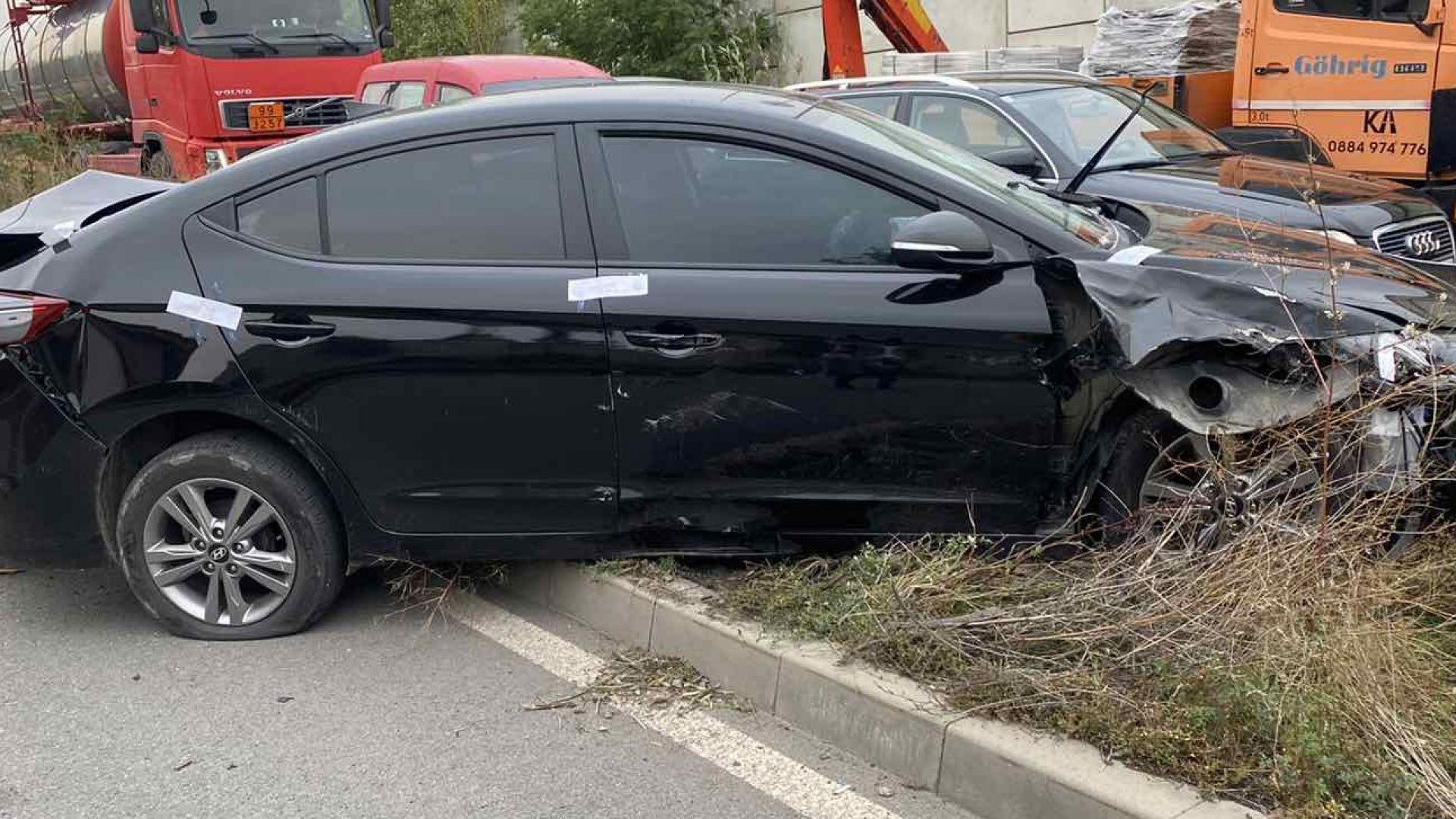 Задържаха банда обирджии след среднощна гонка в София и потрошени 3 патрулки