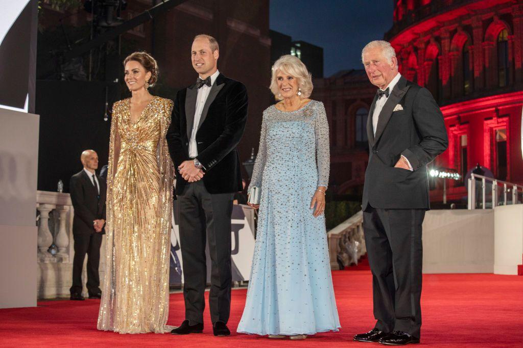Кейт Мидълтън, принц Уилям, Камила Паркър и принц Чарлз