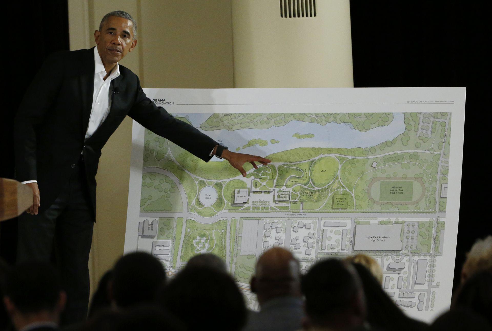 Още през 2017 г. Обама представи своя проект