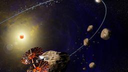 """Апаратът """"Луси"""" на НАСА ще посети осем астероида"""