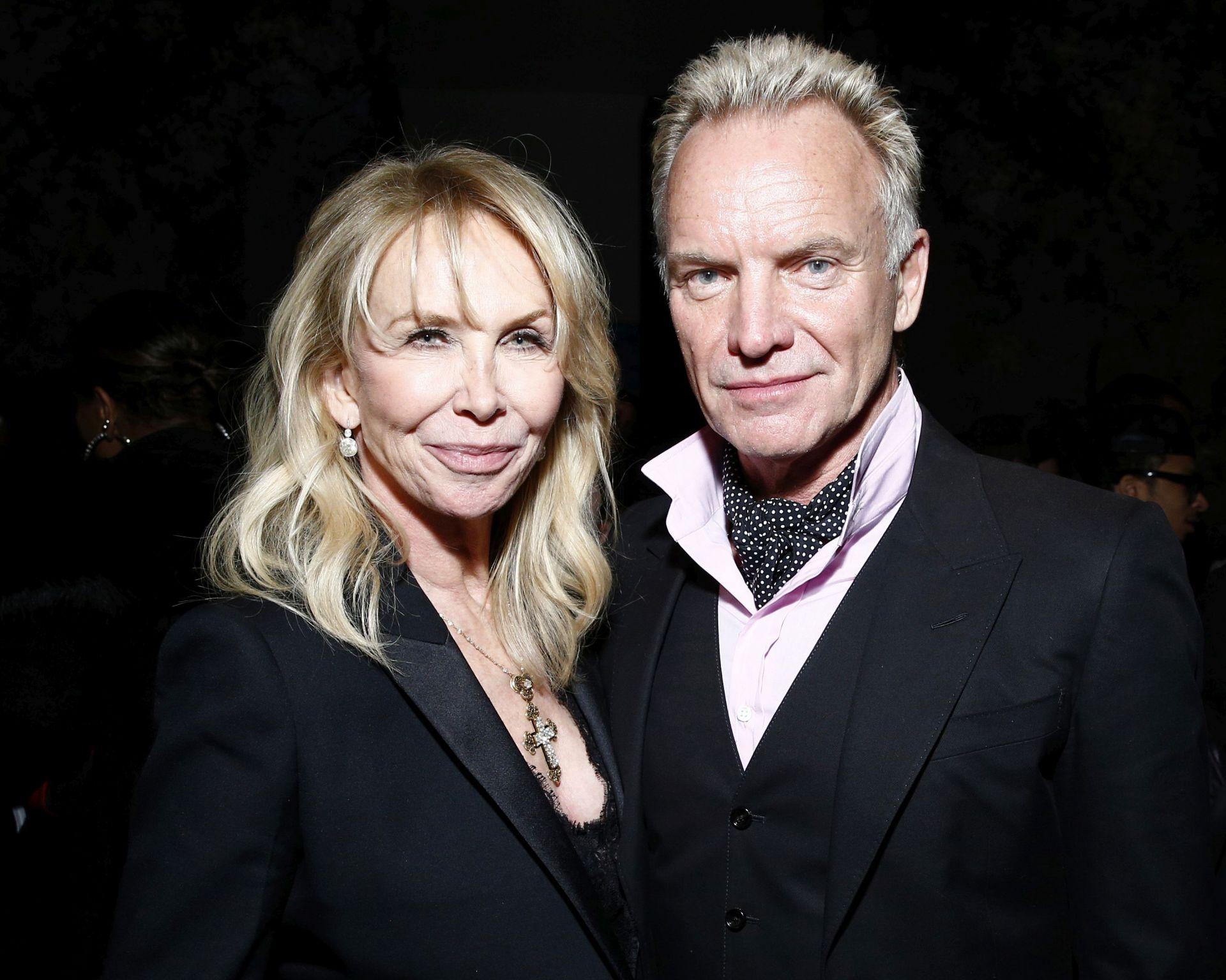 """С жена си Труди, която участва в епизод на """"Приятели"""" почти като себе си"""