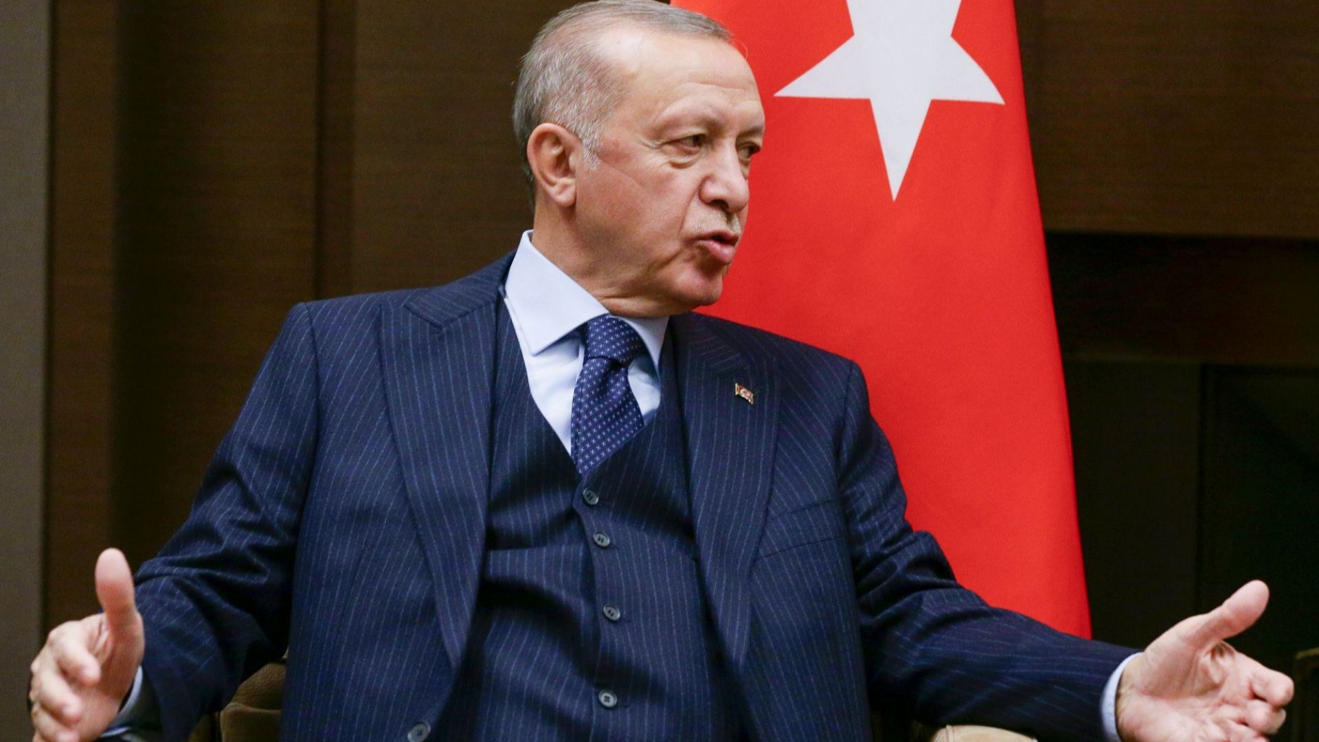 """Ердоган пред """"Ню Йорк таймс"""": Турция може да укрепва отбраната си така, както сама желае"""