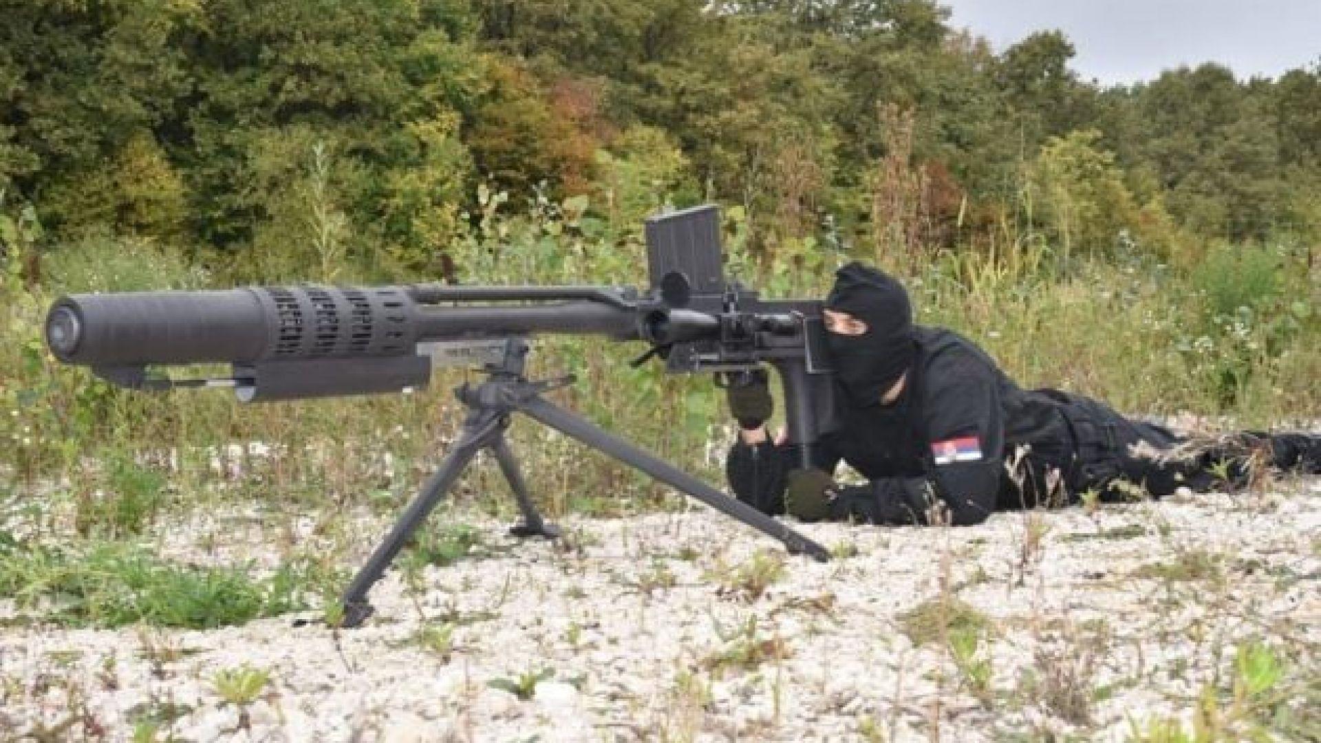 20-милиметров сръбски снайпер
