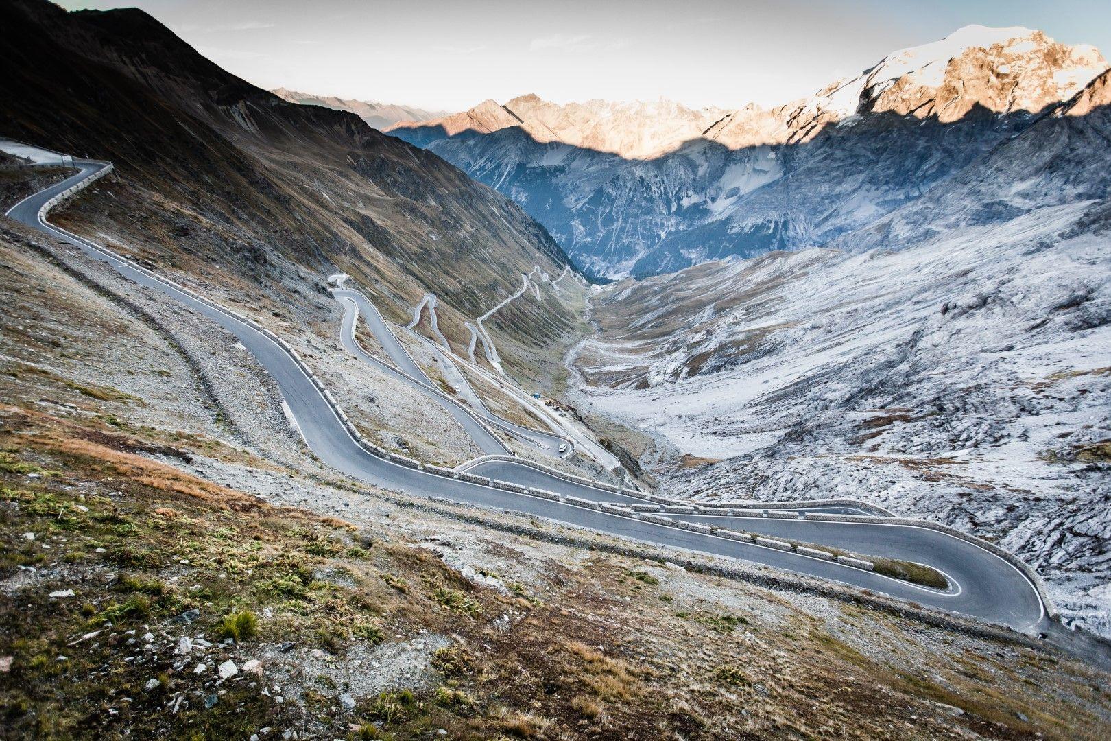 Проходът Стелвио в Северна Италия