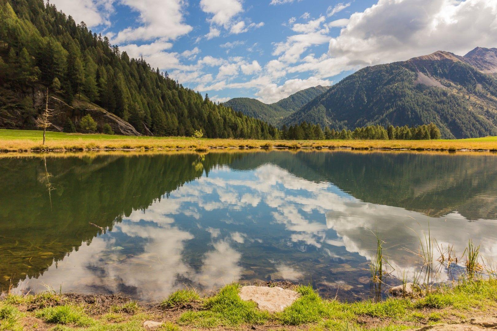 """Езеро в Национален парк """"Стелвио"""""""