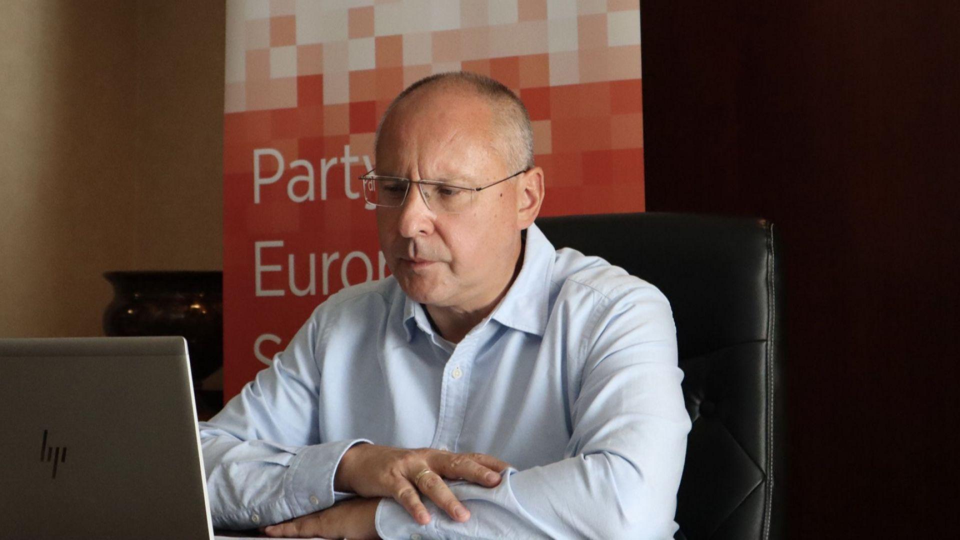 Сергей Станишев: С победата на социалистите в Германия балансът на силите в ЕС се променя