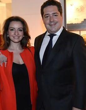 Георгий Михайлович Романов и годеницата му Виктория Романовна Бетарини