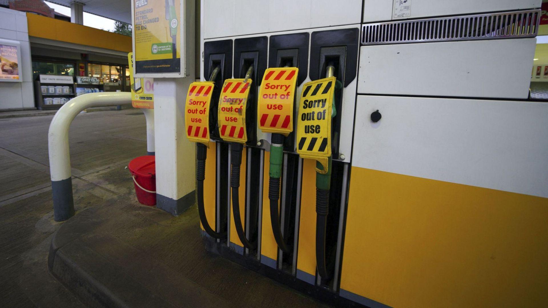 Армията се включва в доставката на горива във Великобритания